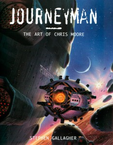 Cover for Journeyman - The Art of Chris Moore
